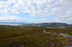 The road to Applecross. On the Applecross peninsula, Scotland Stock Photography