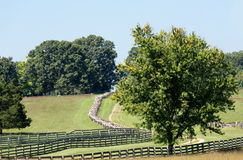Road to Appomattox Courthouse National Park Stock Photo