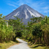 Road to Arenal Stock Photo