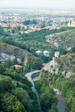 Road to the Asenova Fortress in Bulgaria Royalty Free Stock Images