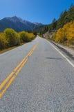 Road To Aspen Colorado in the Autumn Stock Photos