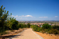 Road to Astorga Royalty Free Stock Images