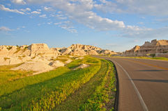 Road to the Badlands Stock Images