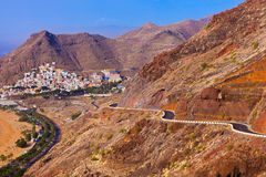 Road to beach Teresitas in Tenerife - Canary Islands Stock Photos