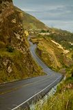 Road to beautiful andean city of Canar in Azogues Stock Image