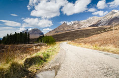 Road to Beinn Eighe Royalty Free Stock Photo