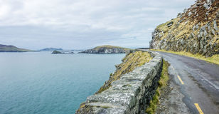 Road to the Blaskets, Dingle, Ireland Stock Images