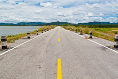 Road to blue sky Royalty Free Stock Image