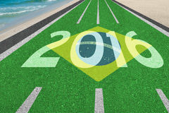 Road to Brazil 2016 Stock Photography
