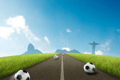 Road to Brazil Stock Photography
