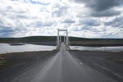 Road to bridge Royalty Free Stock Photos