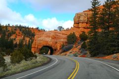 Road to Bryce Canyon Royalty Free Stock Photography