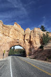 Road to Bryce Canyon, vertical view Stock Images