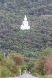 Road to buddha in the mountain at Saraburi province,Thailand Royalty Free Stock Photos