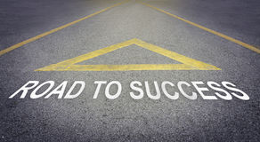 Road to Business success direction arrow Stock Photo