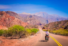 On the road to Cafayate Royalty Free Stock Images