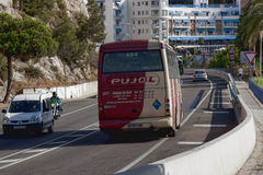 Road to Calella Royalty Free Stock Images