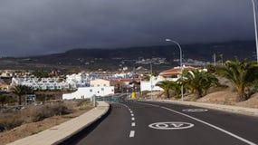 Road to Callao Salvaje Stock Photography