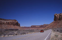 Road to Canyonlands. National Park Utah Stock Photography