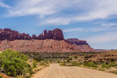 Road to Canyonlands  Park Stock Images