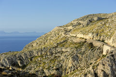 Road to Cape Formentor (Majorca, Spain) Stock Image