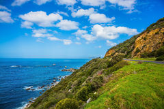 The road to Cape of Good Hope. The concept of active tourism and recreation. The road to the famous Cape of Good Hope. Travel to South Africa Stock Photography