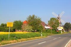Road to carolinensiel Stock Photos