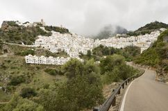 Road to Casares Royalty Free Stock Photos