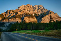 Road to Cascade Mountain, Banff Royalty Free Stock Photo