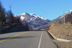 Road to Cerro Castillo, Chilean Patagonia Royalty Free Stock Images