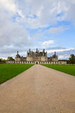 Road to Chambord chateau, France Stock Photos
