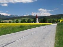 Free Road To Church Of Saint Ladislav Stock Image - 32852961