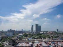 Road to civilize. Bangkok thailand royalty free stock image