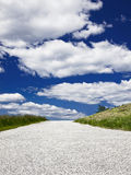 Road to the clouds Royalty Free Stock Photo
