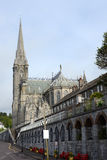 Road to cobh cathedral Royalty Free Stock Images