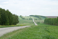 Road to countryside Royalty Free Stock Image