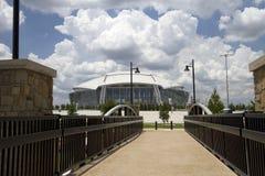 Road to cowboy stadium Royalty Free Stock Image