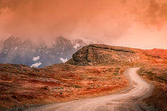 Road to Cuernos del Paine royalty free stock photography