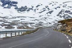 Road to Dalsnibba mountain, Norway Stock Photo