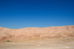 On the road to the Dead Sea, Jordan, Middle East Royalty Free Stock Image