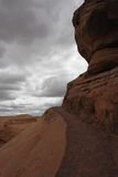 Road to Delicate Arch. Arches National Park, Utah Royalty Free Stock Photos