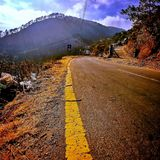 Road to destiny. Your destiny awaits from you royalty free stock photography