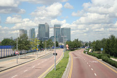 Road to Docklands Royalty Free Stock Image