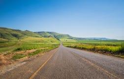 Road to drakensberg inKwazulu Natal Royalty Free Stock Photography