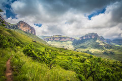 On the Road to Drakensberg Stock Images