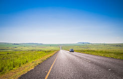 On the Road to Drakensberg Royalty Free Stock Photo