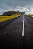 Road to dyrholaey Royalty Free Stock Image