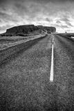Road to dyrholaey in Iceland Royalty Free Stock Photo