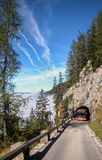 The road to Eagle's nest, Germany Royalty Free Stock Images