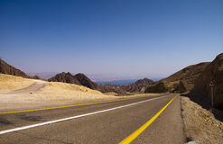 Road to Eilat Royalty Free Stock Photography